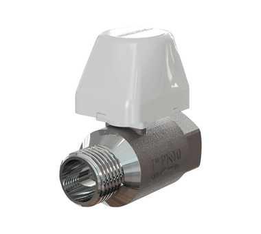 Кран АКВАСТОРОЖ-20 с электроприводом защита от протечек воды