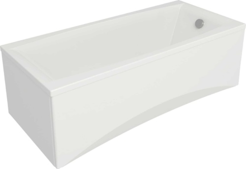 Ванна прямоуг.: VIRGO 180*80, белый, сорт 1