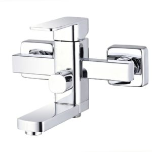 LEB-3123KT/ NEB3 - A123KT (Бронза) Смеситель для ванны одноручковый, с коротким изливом)