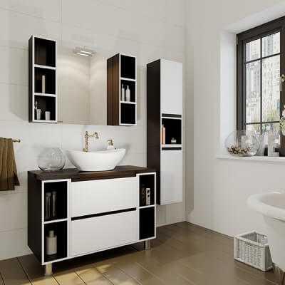 Мебель для ванной комнаты по выгодной цене: купить в Беларуси | КМК | 400x400