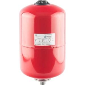 Расширительный бак на отопление 12 л. (цвет красный) Stout