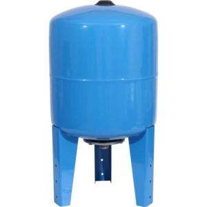 Расширительный бак, гидроаккумулятор 50 л. вертикальный STOUT (цвет синий)